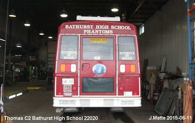 BUS/AUTOBUS: Thomas C2 2013 Bathurst High