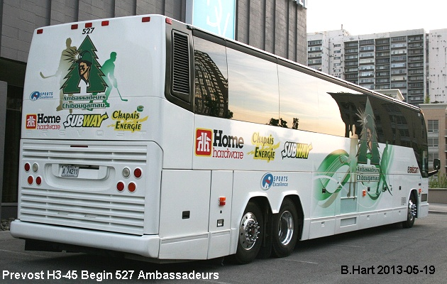 BUS/AUTOBUS: Prevost H3-45 2005 Begin