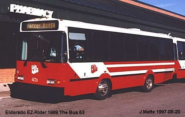 BUS/AUTOBUS: Eldorado E-Z Rider 1989 The Bus