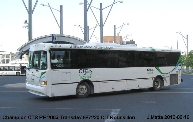 BUS/AUTOBUS: Champion CTS RE 2003 Transdev