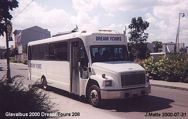 BUS/AUTOBUS: Glavalbus Coach 2000 Dream Tours