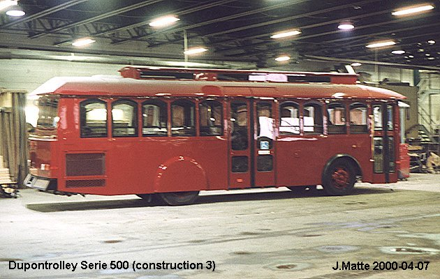 BUS/AUTOBUS: Dupontrolley Serie 600 2000 Dupontrolley