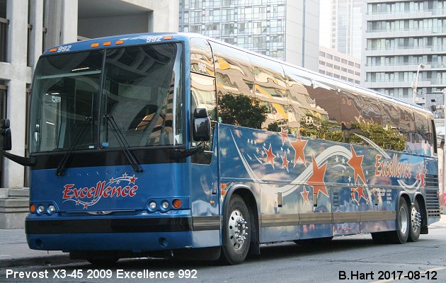 BUS/AUTOBUS: Prevost XL-2 2009 Excellence