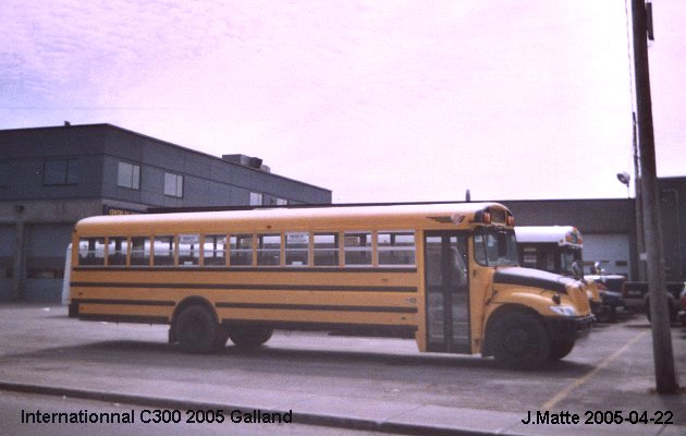 BUS/AUTOBUS: International C300 2005 Galland