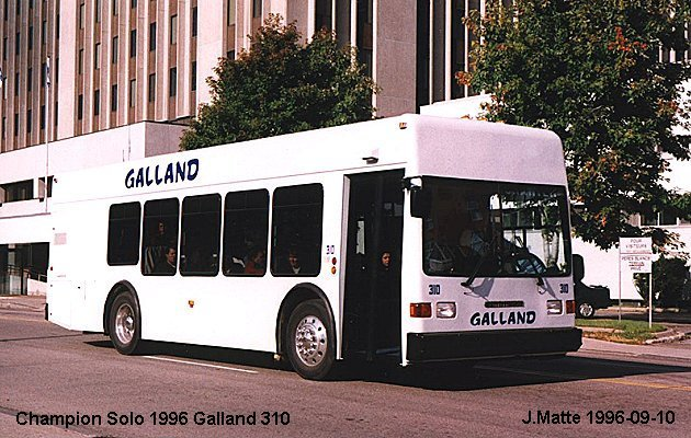 BUS/AUTOBUS: Champion Solo 1996 Galland