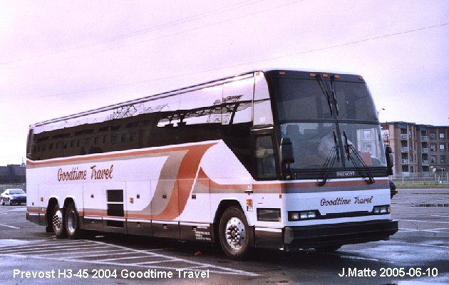 BUS/AUTOBUS: Prevost H3-45 2004 Goodtime Travel