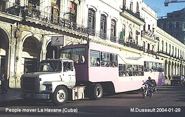 BUS/AUTOBUS: Havane People Mover 1998 Havane