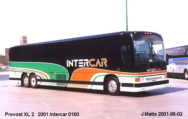 BUS/AUTOBUS: Prevost XL2 2001 Intercar