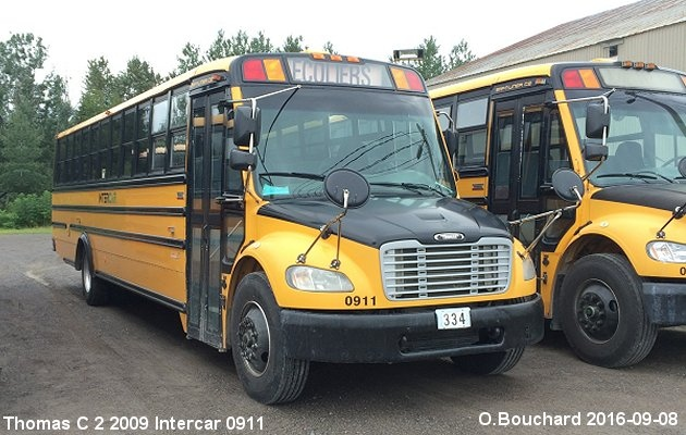 BUS/AUTOBUS: Thomas C2 2009 Intercar