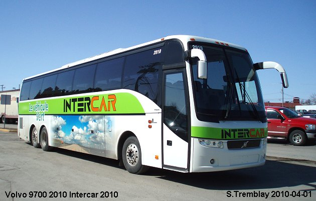 BUS/AUTOBUS: Volvo 9700 2010 Intercar