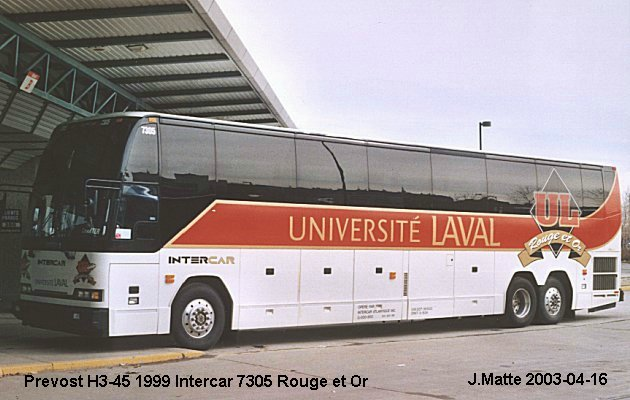 BUS/AUTOBUS: Prevost H3-45 1999 Intercar