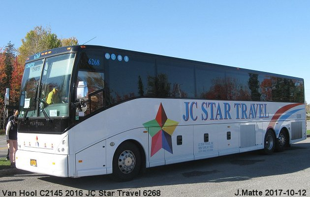 BUS/AUTOBUS: Van Hool C2145 2016 JC Star