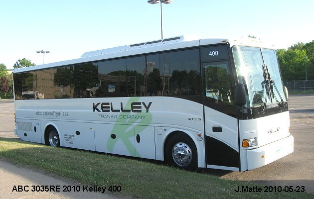 BUS/AUTOBUS: ABC 3035 2010 Kelley