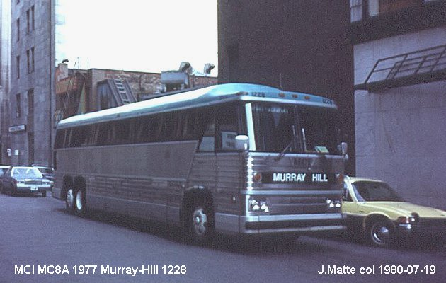 BUS/AUTOBUS: MCI MC 8 A 1977 Murray Hill