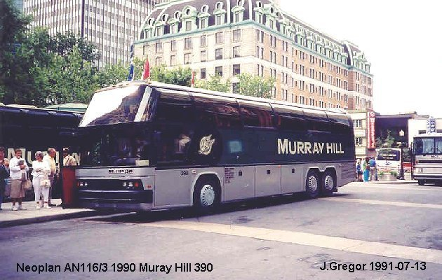 BUS/AUTOBUS: Neoplan AN 116/3 1990 Murray Hill