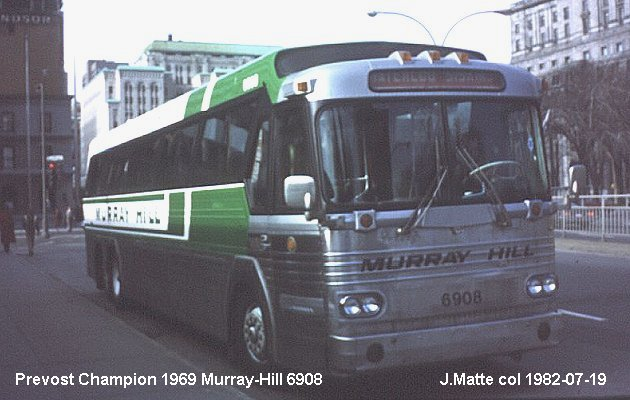 BUS/AUTOBUS: Prevost Champion 1969 Murray Hill