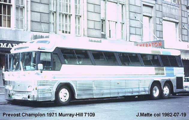 BUS/AUTOBUS: Prevost Champion 1971 Murray Hill