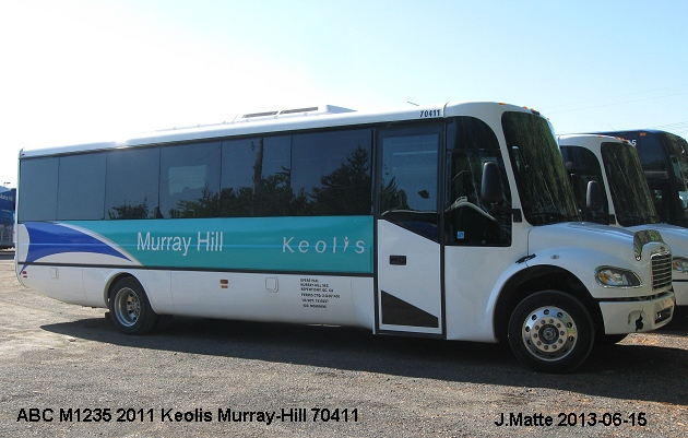 BUS/AUTOBUS: ABC M1235 2012 Murray Hill