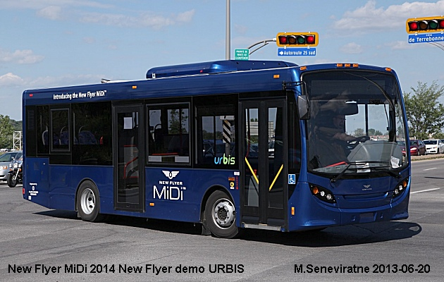 BUS/AUTOBUS: New Flyer MiDi 2014 New Flyer
