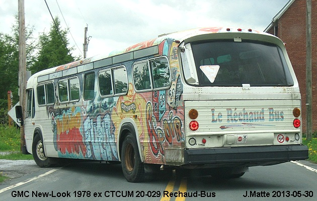 BUS/AUTOBUS: GMC New-Look 1978 prive