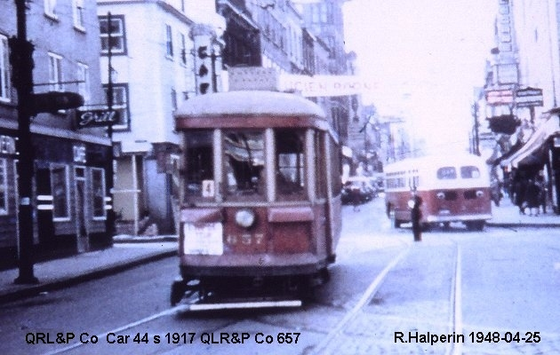BUS/AUTOBUS: QRLP & Co 40S 1917 QRLP