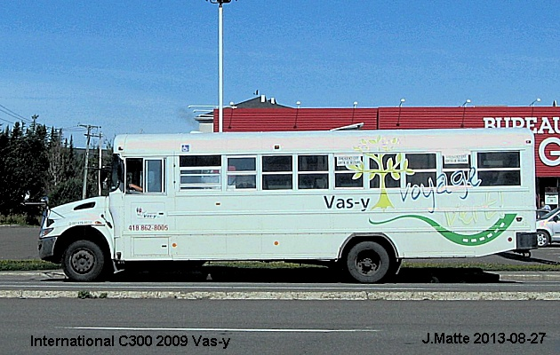 BUS/AUTOBUS: International C300 2009 Vas Y