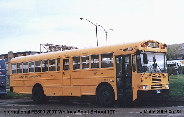 BUS/AUTOBUS: International FE300 2007 Withney